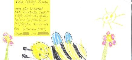 Fleißige Bienen von Kinderhand