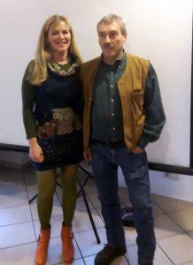 Danielle Petschinka-Hegerfeld und Dirk Ahrens-Lagast (r)