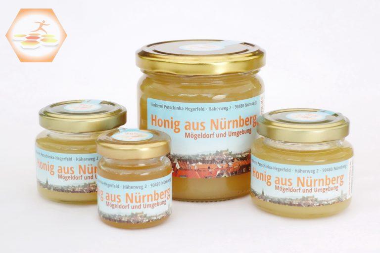Honig aus Nürnberg Mögeldorf 2019 • Sommerhonig mit hohem Lindenanteil