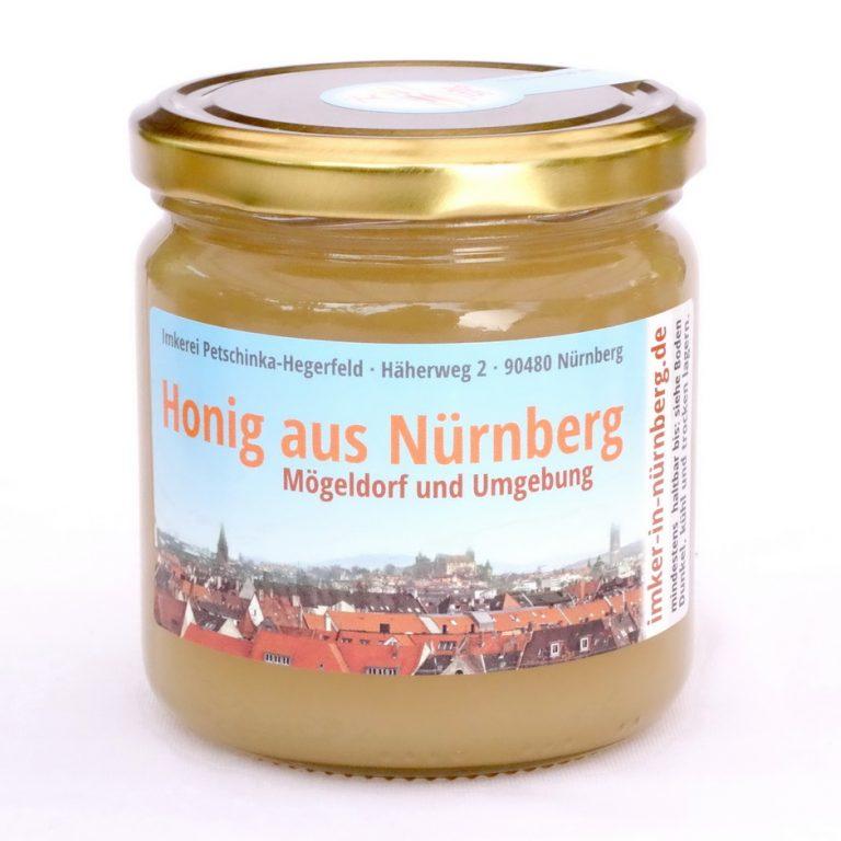 Honig aus Nürnberg Mögeldorf 2019 • Sommerhonig mit hohem Lindenanteil • Imkerei Danielle Petschinka-Hegerfeld