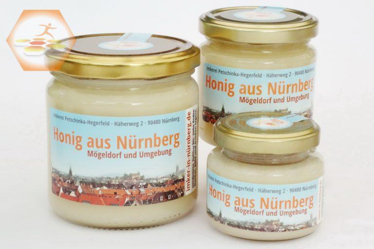Honig aus Nürnberg Mögeldorf 2018 • Frühjahrshonig Raps