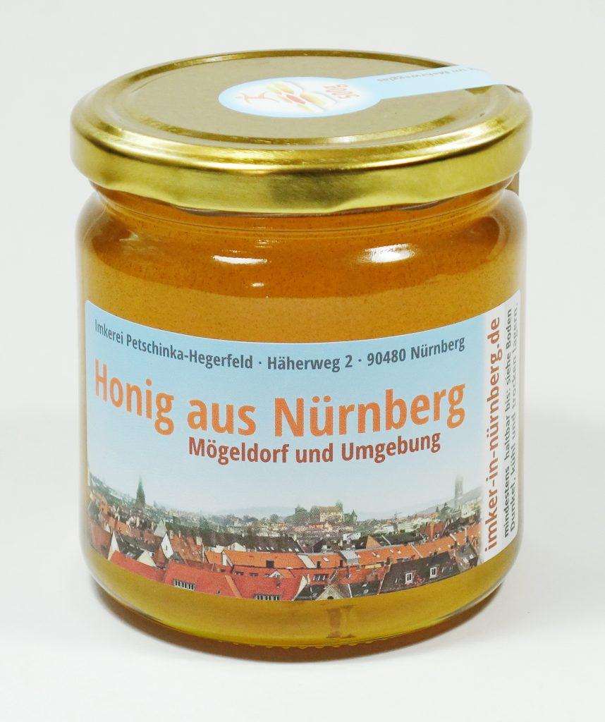 Honig aus Nürnberg Mögeldorf und Umgebung - Juli 2020 - Sommerhonig mit Linde, Sommerblüte und einem Hauch von Kräutern